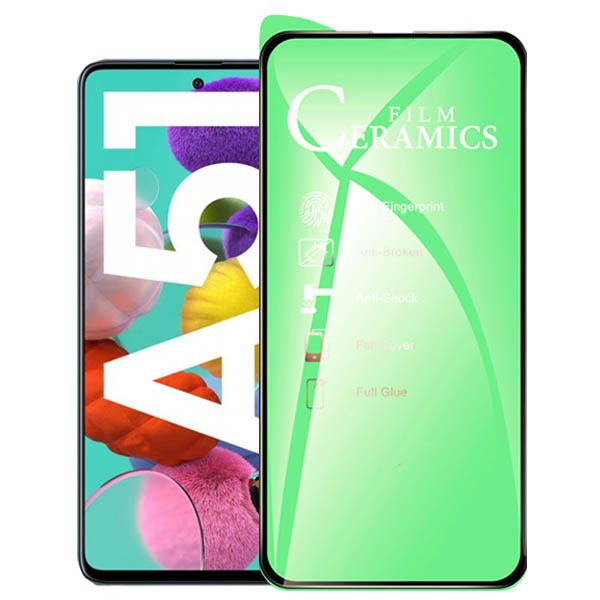 گلس محافظ صفحه نمایش سرامیکی سامسونگ Galaxy A51